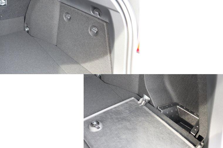 C-HRのラゲッジサイド収納スペース