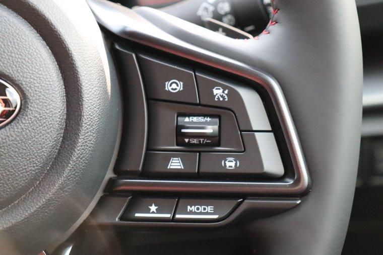 レヴォーグSTIスポーツのドライブモードセレクトスイッチ