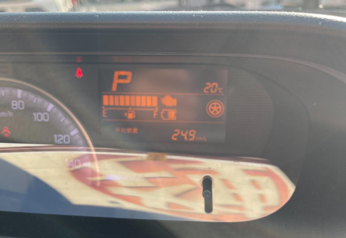 ワゴンR 実燃費